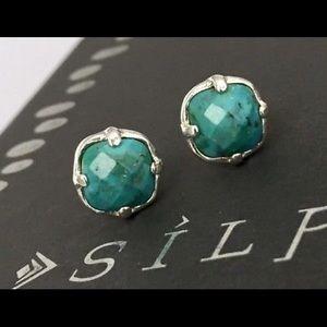 Silpada Turquoise Post Stud Earrings